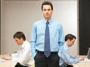 Businessman in work